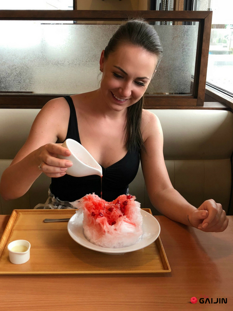 shaved ice japonia