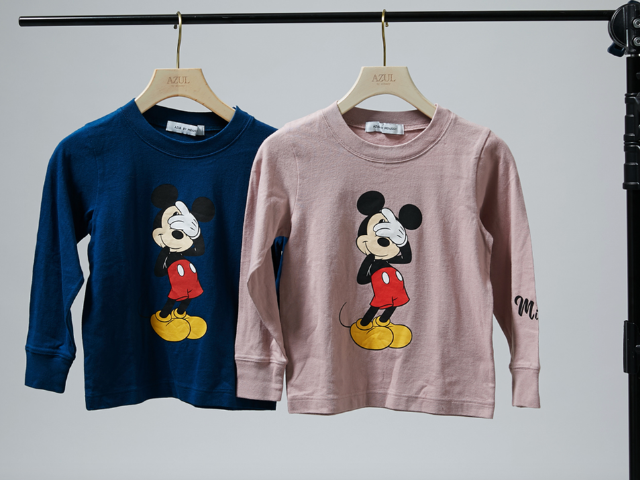 mickey mouse azul by moussey