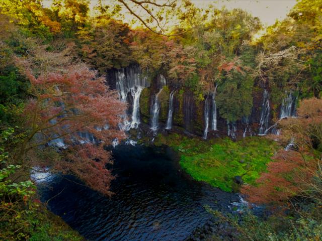 shiraito waterfalls