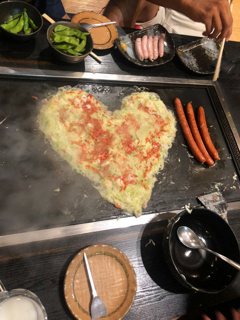 heart shaped monja