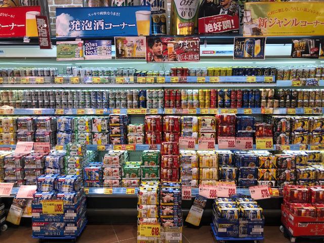 beer in japan