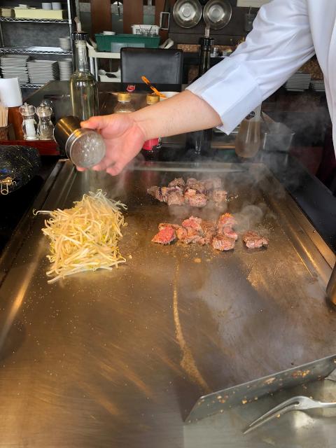 teppanyaki japan