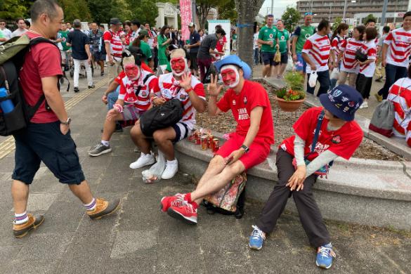 Jak zakochać się wrugby? Mojewrażenia pomeczu Japonia-Irlandia