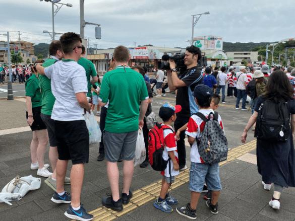 Jak zakochać się w rugby? Moje wrażenia po meczu Japonia-Irlandia