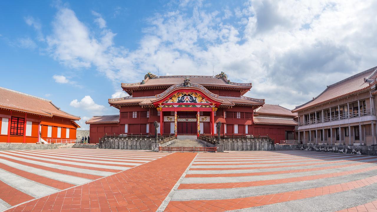 Pożar zamku shuri okinawa