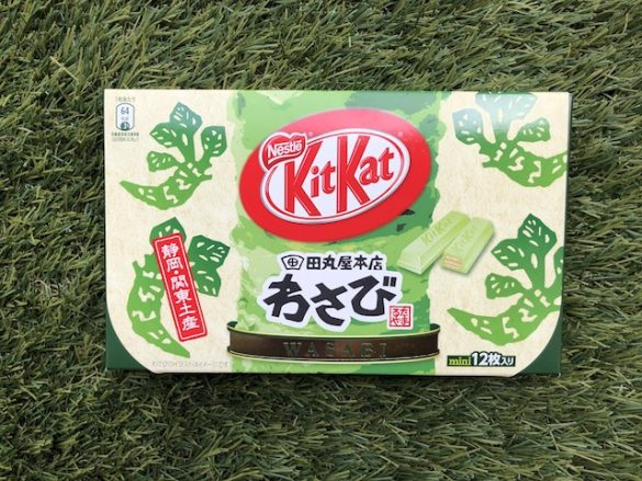 japonia kit kat wasabi