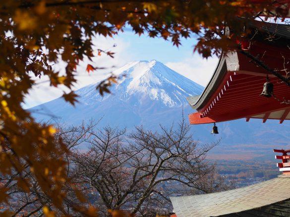 jesień fuji