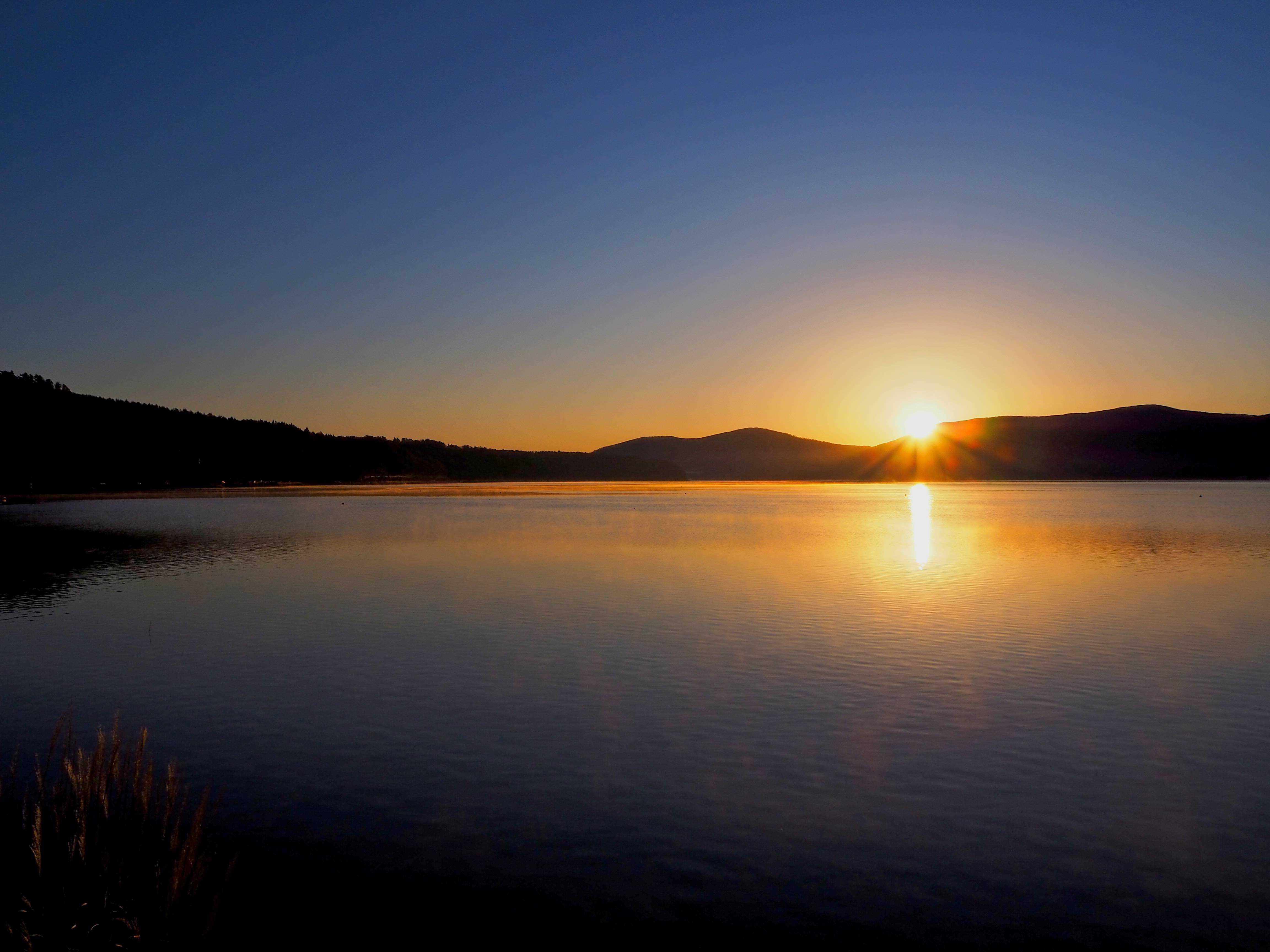 sunrise fuji yamanaka