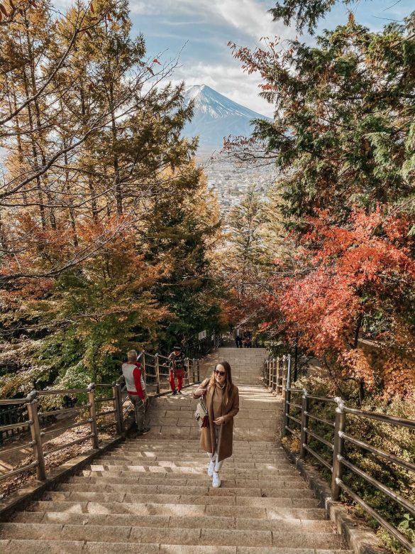 wycieczka podfuji chureito pagoda