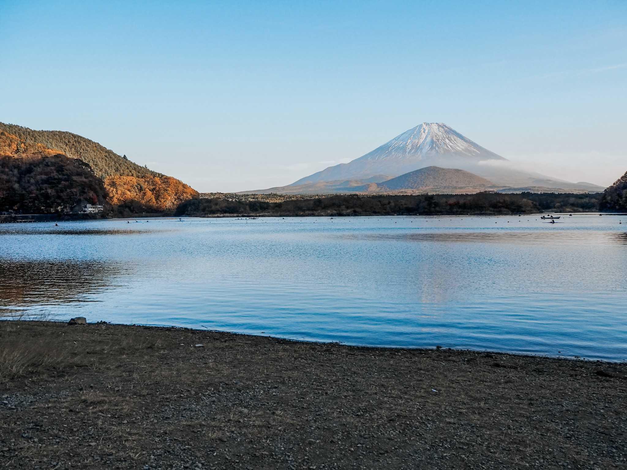 jezioro shoji góra omuro ifuji