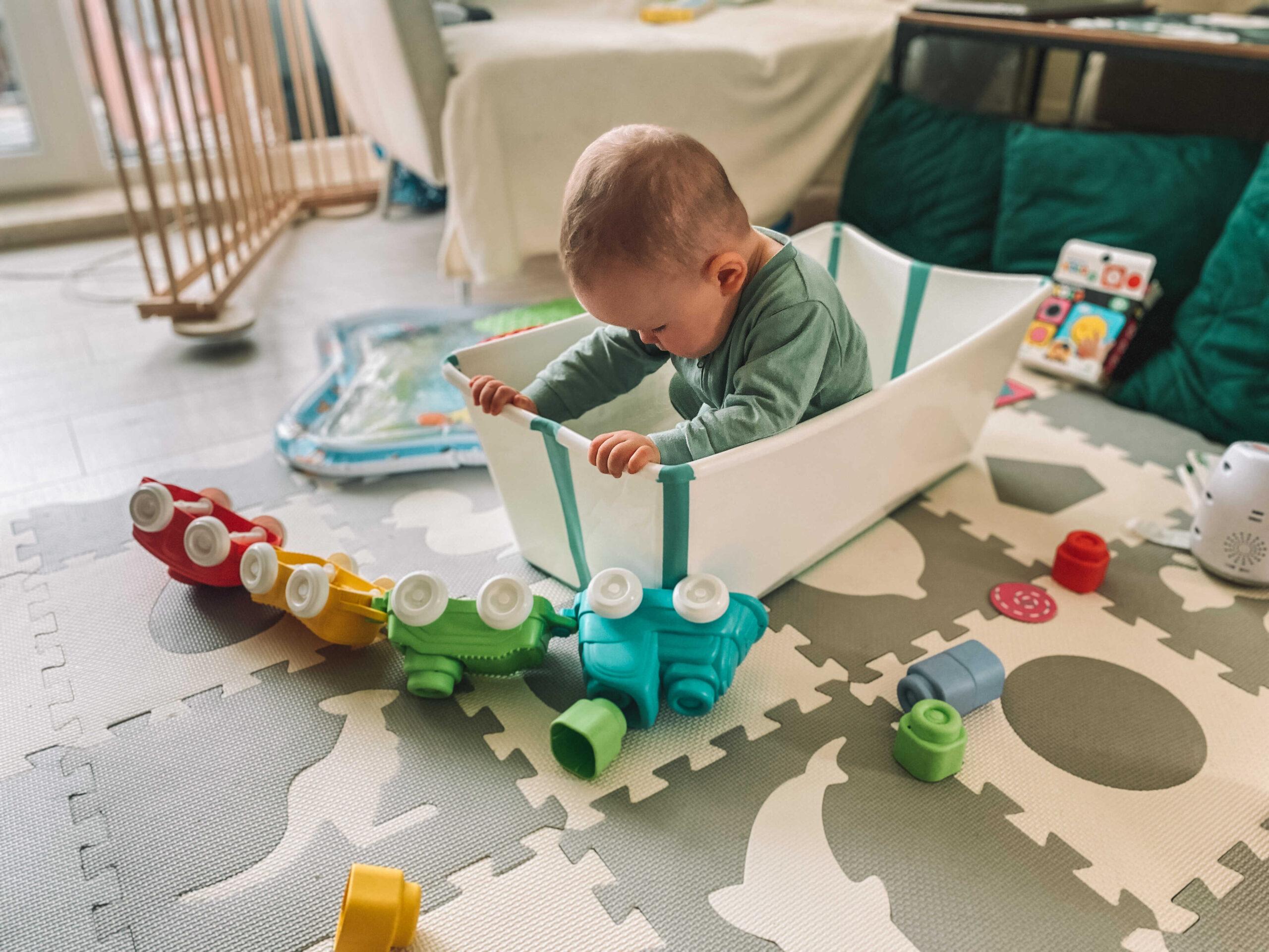 flexi bath stokke gadżety dla niemowląt